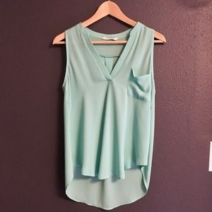 Lush Sleeveless Blouse